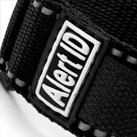 Black Alert ID Sport Strap Adjustable 5 1/2 - 8 Inches inset 1