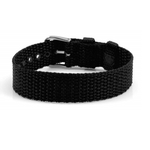 Black Buckle Strap for ID Tag inset 1