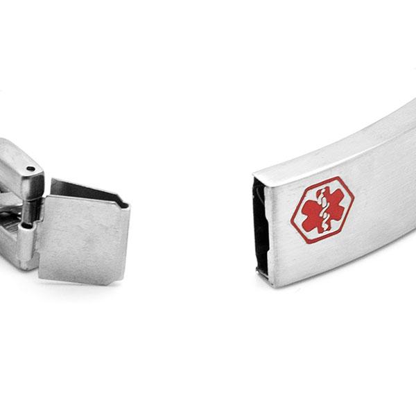 Astra Engravable Medical Bracelet for Men inset 2