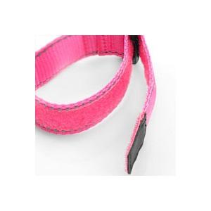 Neon Pink Sports Strap Bracelet inset 1