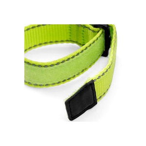 Neon Yellow Sports Strap Bracelet inset 1