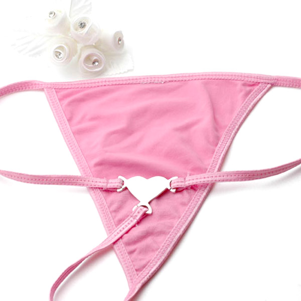 Additional Small Pink G String (No Tag) inset 1