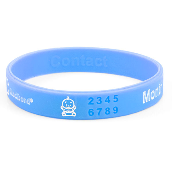 Mediband - Light Blue Pregnancy Write on - Medium inset 1