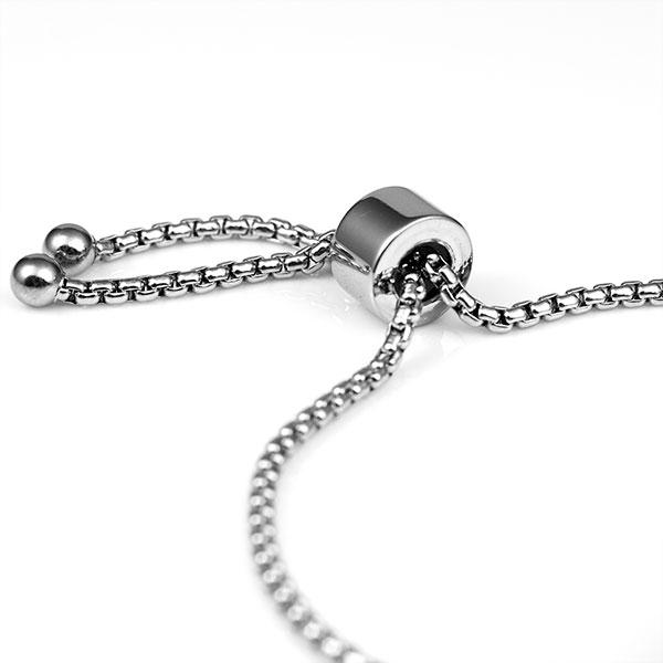 Modern Girl Easy Adjust Alert ID Bracelet inset 1