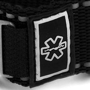 Black Engravable Sportstrap Medical Alert Bracelet  inset 4