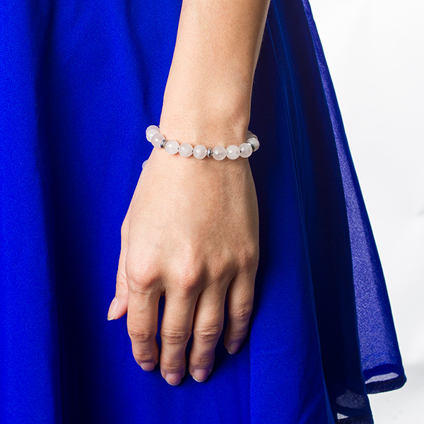 Moon Light Beaded Alert ID Bracelet inset 2