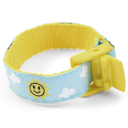 Sunny Sky Strap for Slide On ID Tags LG Fits 4 - 8 Inch inset 1