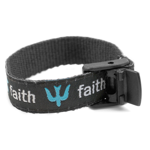 Faith Strap for Slide On ID Tags SM Fits 4 - 6 Inch inset 1