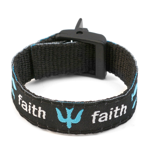 Faith Strap for Slide On ID Tags SM Fits 4 - 6 Inch inset 2