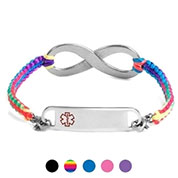 Stylish Medical Alert Bracelets with Macrame