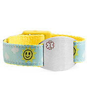 Sunny Sky Medical Sport Band Bracelet 4 - 8 Inch