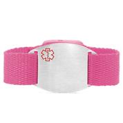 Pink Sport Strap Medical Alert Bracelets