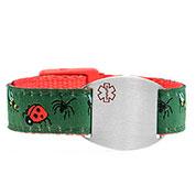 Bugs Medical Sport Band Bracelet 4 - 8 Inch