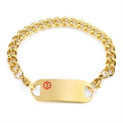 Bryden Gold  Medical ID Bracelets