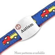Engraved Autism Bracelet for Children in Multiple Patterns