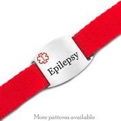 Secure Sport Strap Epilepsy Bracelet