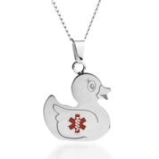 Ducky Medical  Kids ID Necklace