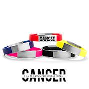 Cancer is... Silicone Medical Alert Bracelets