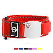 Chase Sports Medical Alert Bracelets for Kids & Adults Choose Color