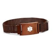 Adjustable Coffee Color Medical Bracelet