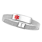 Adjustable Stretch Mesh Medical Bracelet
