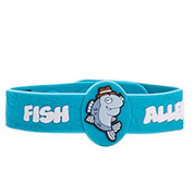 Detective Fin Fish Allergy Bracelet
