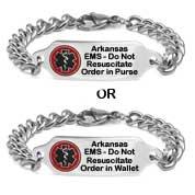 Arkansas Do Not Resuscitate Bracelet