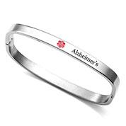 Bangle Style Alzheimers Bracelet