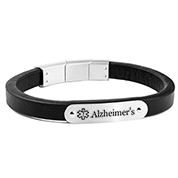 Black Leather and Silver Alzheimer