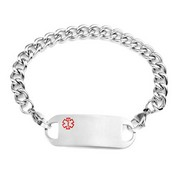 Bryden Stainless Steel Medical ID Bracelets
