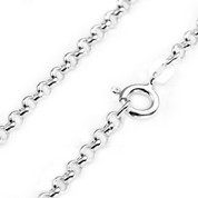 2.6mm Sterling Silver Rolo Chains