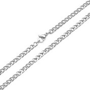 4mm Curb Link Stainless Steel Chain 24 inch