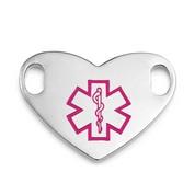 LG Pink Symbol Medical ID Tag
