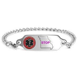 Missouri Do Not Resuscitate Bracelet
