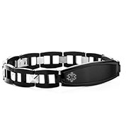 Dalton Mens Medical Alert Bracelets for Men