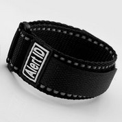 Black Alert ID Sport Strap Adjustable 5 1/2 - 8 Inches