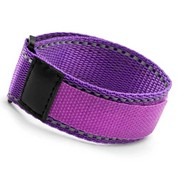 Purple Sports Strap Adjustable Bracelet