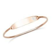Lesly Rose Gold Medical Alert Bracelets for Women