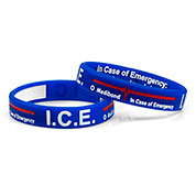 Mediband - In Case of Emergency Write on - Blue - (Small) - HSKU:2105-S