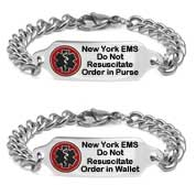 New York Do Not Resuscitate DNR Bracelet