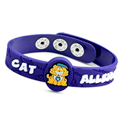 Nine Cat Allergy Childrens Bracelet