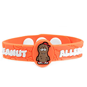 P. Nutty Peanut Allergy Kids Bracelet