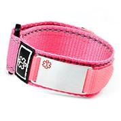 Pink ID Alert Medical Bracelet