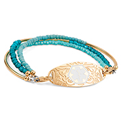 Queen of the Nile Medical Alert Bracelet