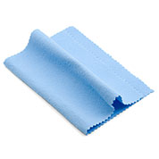 Single Pack Baby Blue Polishing Cloth