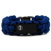 Paracord & Black Tag Medical Bracelets for Kids & Women