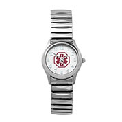Ladies White Expansion Medical Watch