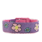 Small Flower Garden Strap for Slide On ID Tags