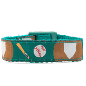 Small Baseball Strap for Slide On ID Tags