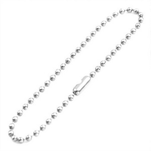 2.5mm Stainless Bead Chain for Bag Tags 6 In